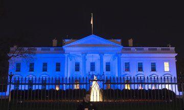 Landmarks Turn Blue For World Autism Awareness Day | The Huffington Post