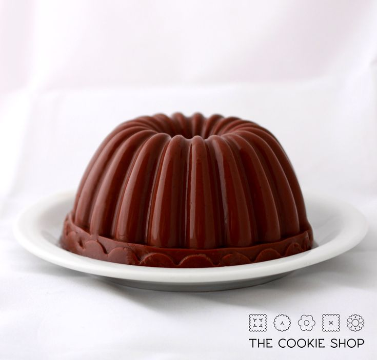 gelatina de chocolate