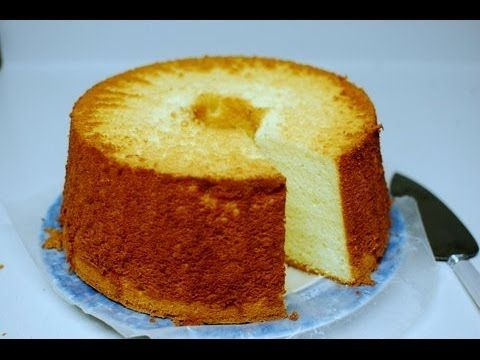 How To Make Chifon Cakes