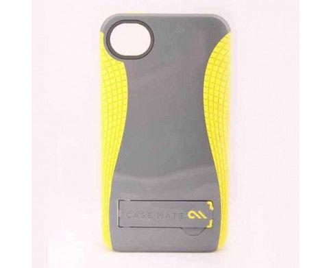 CaseMate iPhone 4 Pop 2 Cool Grey/Citron | El Pop! protector 2 con soporte combina dos materiales de apoyo a la perfecciónco-moldeados juntos en una estructura única de abrazar a las líneas de su dispositivo | Un policarbonato ligero armazón de plástico, protege contra el daño de los impactos y mantiene la pantalla se retira de las superficies | Visítanos; www.gsmchile.cl | @gsm_chile | www.facebook.com/gsmchile.cl