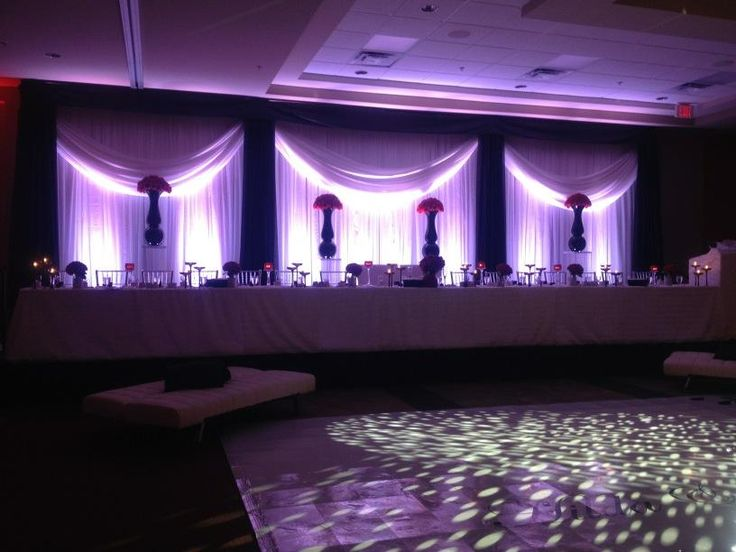 Custom draping and florals by FE    and @Events by Emma  for Hilda and Andrews ...