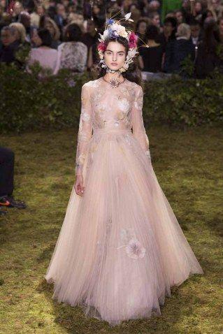 Christian Dior Alta Costura primavera-verano 2017