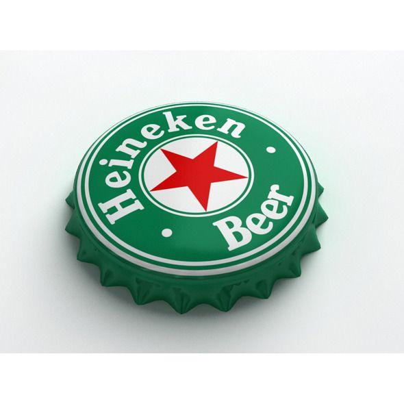 Heineken Bottle Tin Cap Heineken Logo Heineken Bottle Heineken