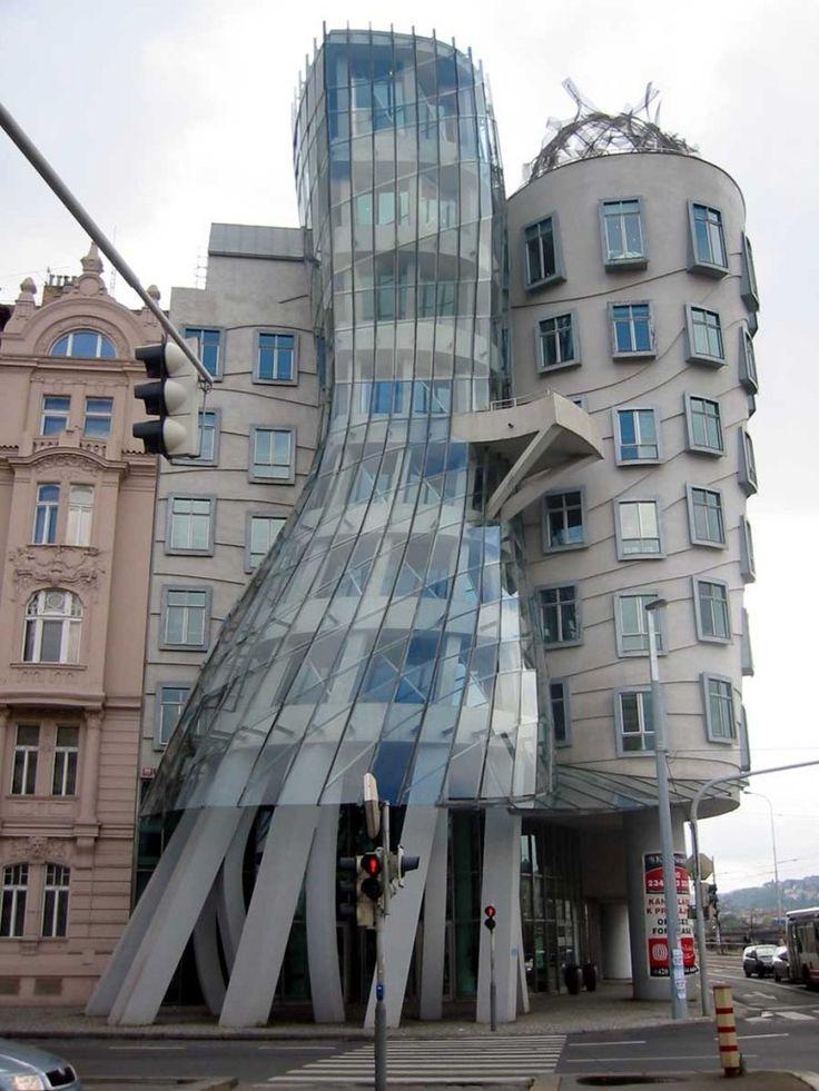 The Dancing House – Prague, Czech Republic