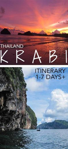 Here's what you can do in Krabi regardless if you're here for a day or over a week - advice from someone who spent over a year in Krabi :) Krabi itinerary | Krabi things to do | Krabi Thailand | Krabi islands | Krabi island hopping | Krabi Beaches | When to go to Krabi
