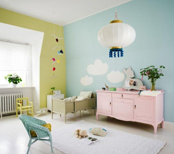 die besten 20+ farbige wände ideen auf pinterest - Farbige Wandgestaltung
