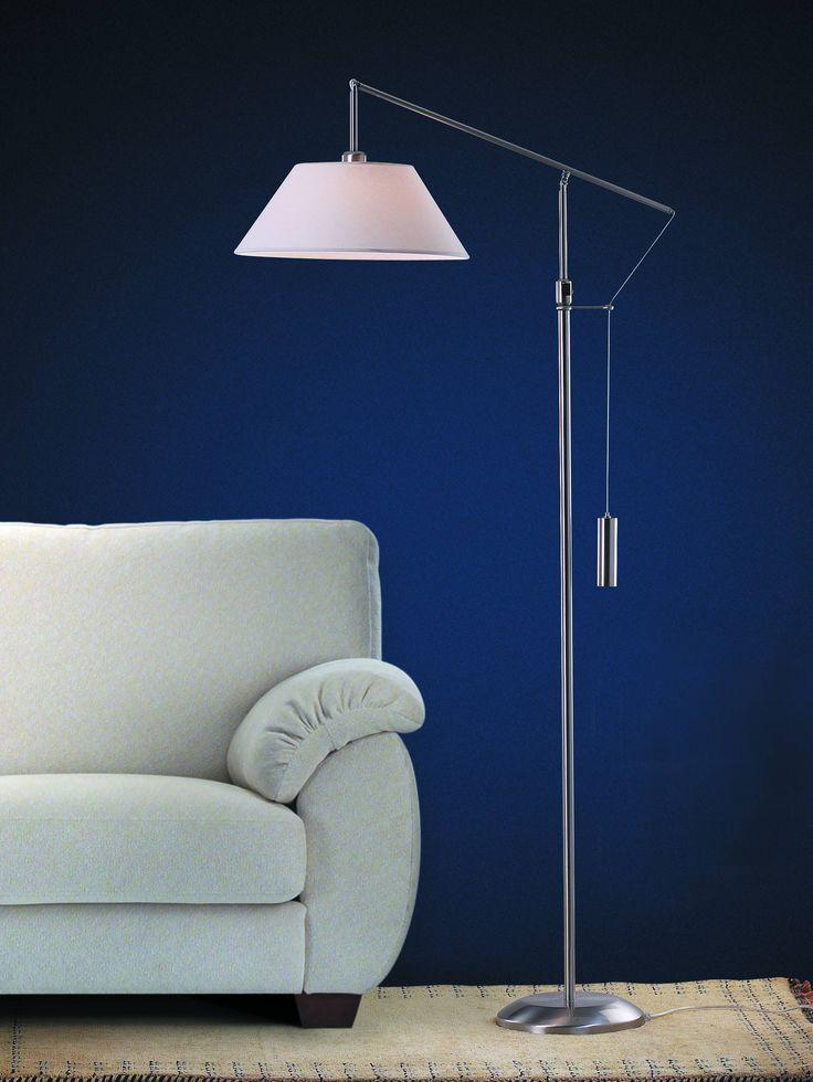 18 best lamparas decorativas images on pinterest - Lampara de pie para lectura ...