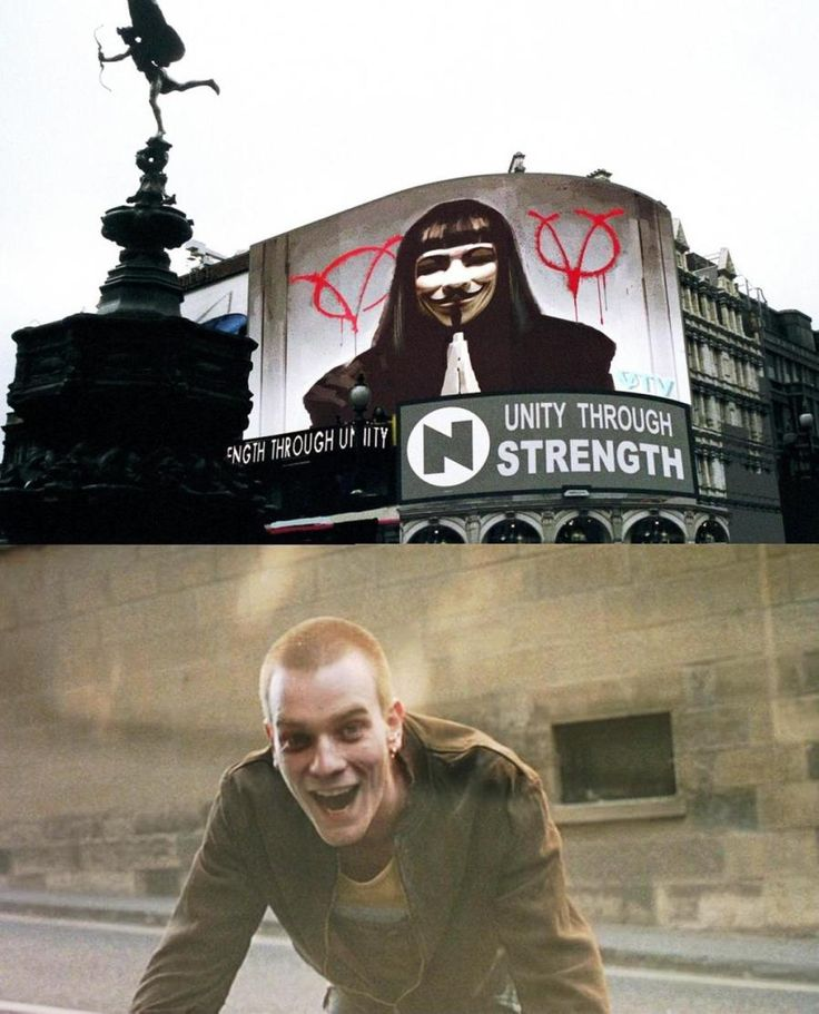 """V for Vendetta"" vs ""Trainspotting"": monologhi a confronto"