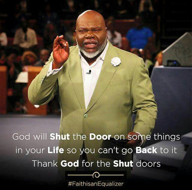 T.D. Jakes.                                                                                                                                                                                 More