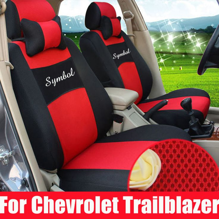 Custom car seat cover for chevrolet trailblazer interior accessories seat covers sandwich car styling seats cover set with logo #Affiliate