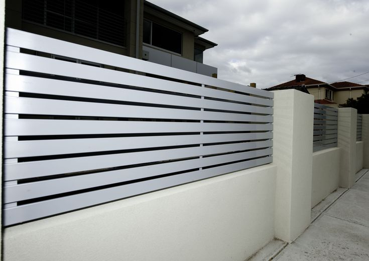 Modern Iron Fence Design Fence Pinterest Fence