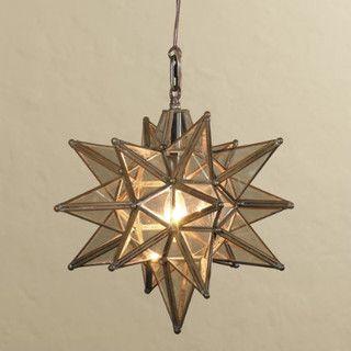 Moravian Star Pendant Light - mediterranean - pendant lighting - by Ballard Designs $149