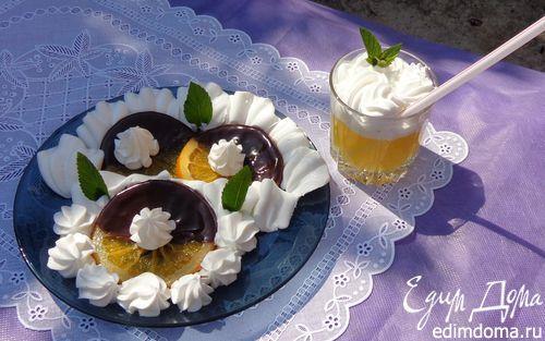 Карамелизированные апельсины в шоколаде | Кулинарные рецепты от «Едим дома!»