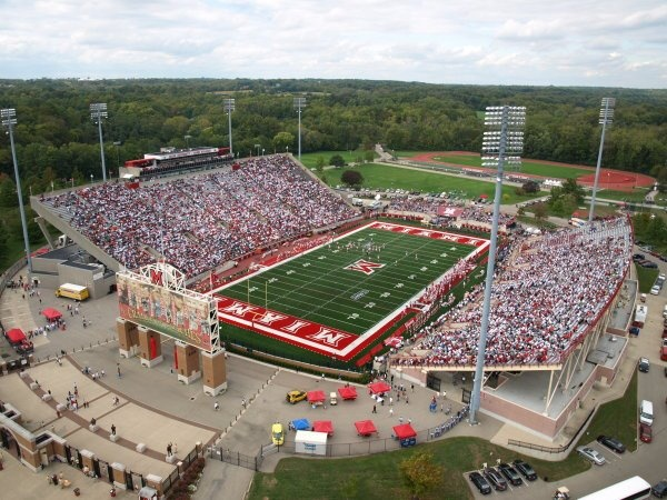 Yager Stadium- Miami University #MiamiOH