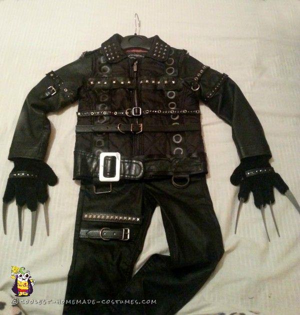 540 best halloween costumes for kids images on pinterest diy 3 year old edward scissorhands halloween costume solutioingenieria Choice Image