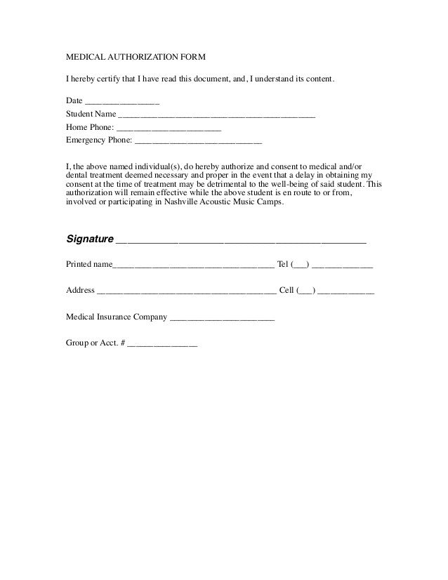 889 best Basic Template for Legal Forms images on Pinterest Free - dental release form