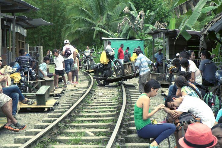 San Cipriano, giungla della Colombia occidentale. Foto di Angelo Calianno.