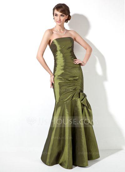 Bridesmaid Dresses - $108.99 - Mermaid Strapless Floor-Length Taffeta Bridesmaid Dress With Ruffle Beading (007000906) http://jjshouse.com/Mermaid-Strapless-Floor-Length-Taffeta-Bridesmaid-Dress-With-Ruffle-Beading-007000906-g906?ver=xdegc7h0