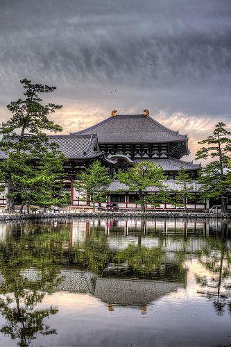 Todaiji Pond, Nara, Japan