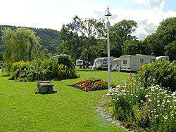 Bodnant touring caravan site north wales