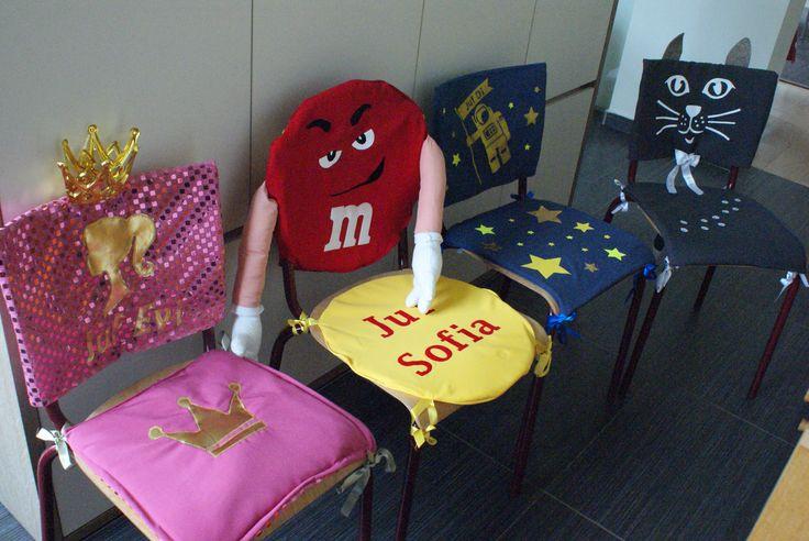 #dag van de leerkracht #stoelen pimpen #pimped chair #juffencadeau