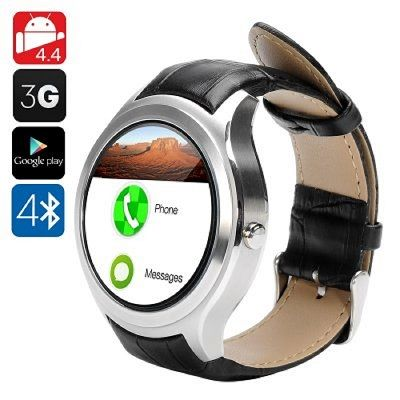 D5 Android Smart Watch Wi-Fi Google Play 3G SIM