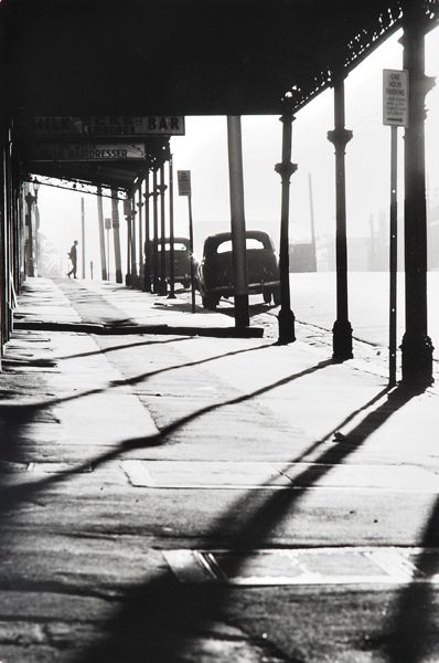 Queensberry Street. Melbourne Australia.  1963.  by Mark Strizic
