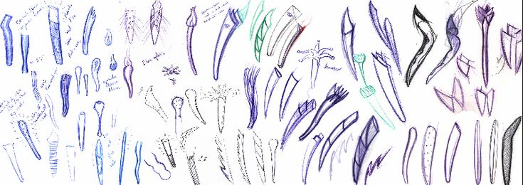 Sketches for sydney 2000 olympic torch by Robert Jurgens