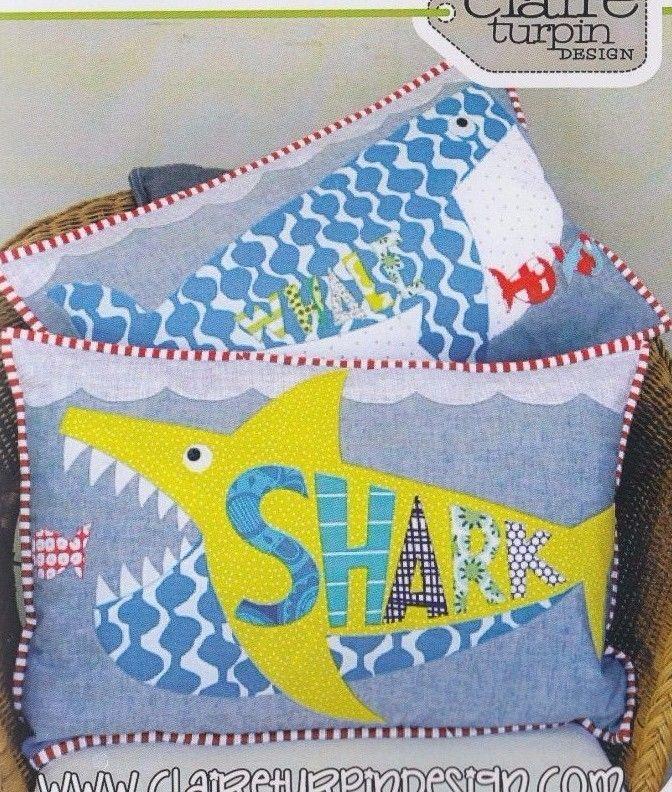 Applique Cushions Shabby Chic