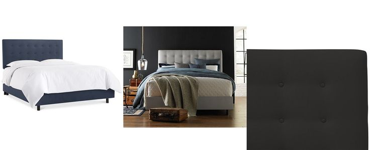 Hawthorne King Button Bed, Direct Ship - Beds & Headboards - Furniture - Macy's