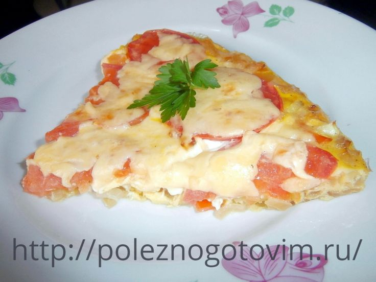 Диетическая пицца без теста