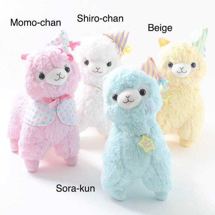 Alpacasso Goodnight Alpaca Plush Collection (Big)