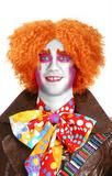 Deluxe Orange Mad Hatter Wig