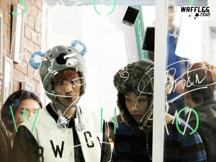 Exo - Luhan & Xiumin Minseok #lumin @ BWCW shop