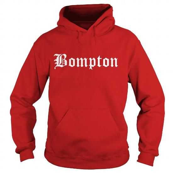 Bompton Hat: I Love Bompton Hoodie T-Shirts