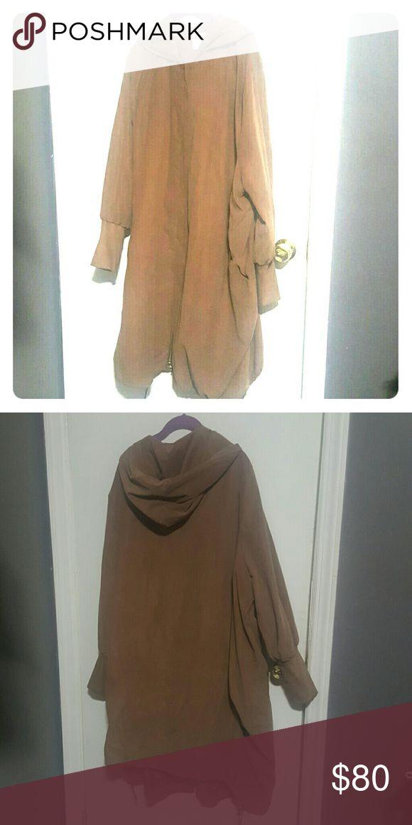 Jacket - Plus Size 22 ASOS CURVE COCOON COAT ASOS Curve Jackets & Coats Trench Coats