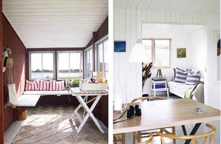more white Scandinavian summerhouse love!