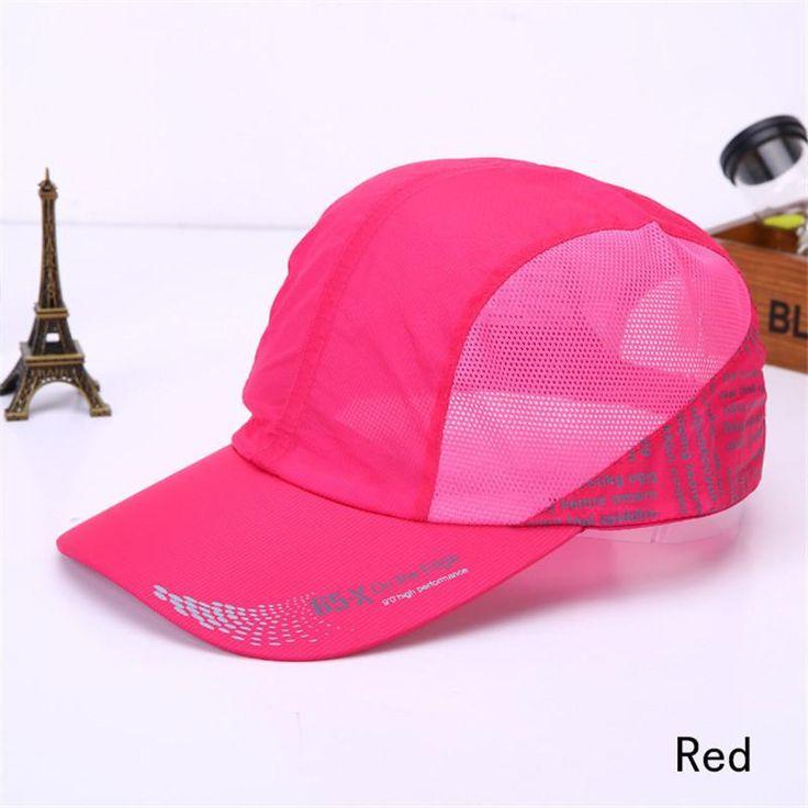 Summer Breathable Caps Solid Baseball Cap Women Men Caps Casual Sun Hat Visor Snapback Pop Bone gorras beisbol 2016 H002