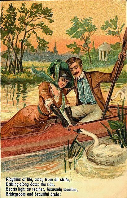 96 Best Images About Vintage Postcard Amour On Pinterest