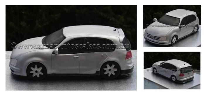 VW Golf cake @ Amarantos