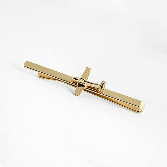 Men gift, pilot gift, airplane jewelry, Men, airplane tie clip, tie bar, tie tac,christmas gifts, aviation jewelry, father's day gift