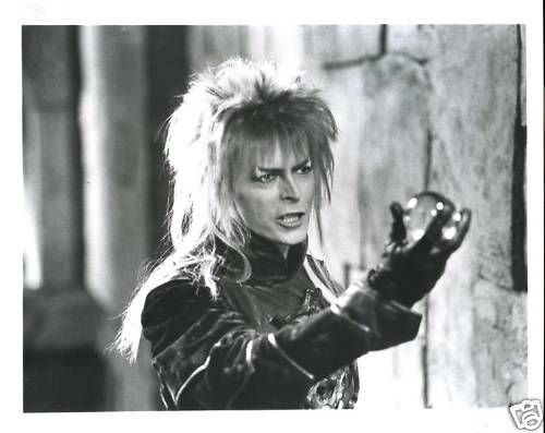 Labyrinth (1986) David Bowie as Jareth the Goblin King.