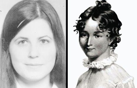 Two women, born on the same day but 157 years apart, died on the same day. They both met with a friend, put on a new dress, went to a dance, and met their killers. They were killed the same way, in the same spot. Both by men named Thornton who were acquitted of the murders in both cases. Strange coincidence? Some say reincarnation.