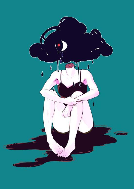 gloom cloud by feyuca.deviantart.com on @deviantART