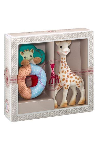 Sophie la Girafe 'Sophiesticated' Rattle & Teething Toy available at #Nordstrom