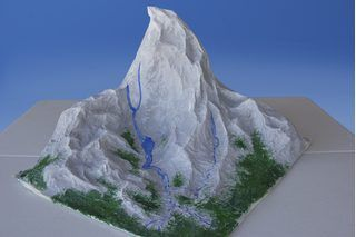 How To Make A Fake Mountain For A School Diorama