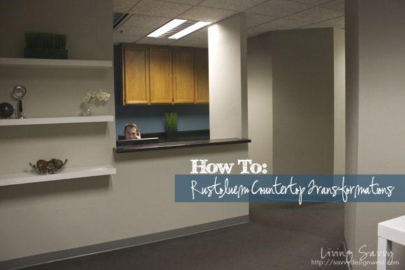 ... projects/ DIY Pinterest Countertops and Rustoleum countertop