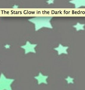 Delight an elderly loved one with glow in the dark stars.