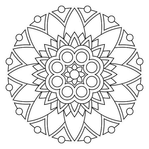 68 best Mandala coloring pages images on Pinterest | Animal coloring ...