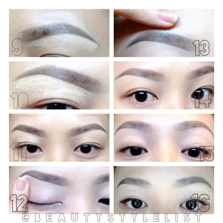 eyebrow tutorial for sparse brows